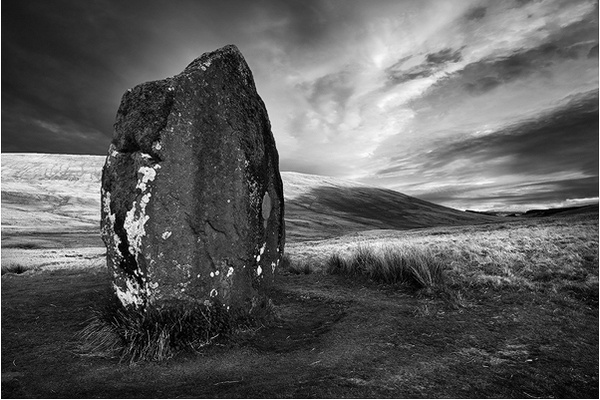 Maen Llia - Du a Gwyn / Black and White Images