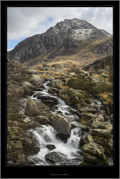 Tryfan a Rhaeadr Ogwen - Eryri / Snowdonia