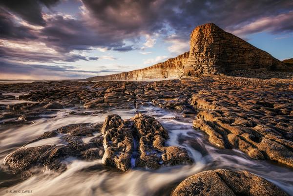 Trwyn Yr As Fach - Nash Point - Arfordir De Cymru / S. Wales Coast