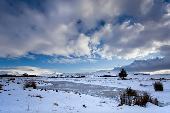 Beacons in the Snow - Bannau Brycheiniog / Brecon Beacons
