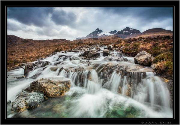Sligachan Falls 170414_0922 copy - Yr Alban / Scotland