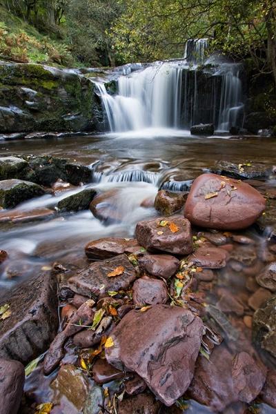 Blaen Y Glyn Cascade - Bannau Brycheiniog / Brecon Beacons