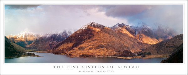 The Five Sisters of Kintail - Yr Alban / Scotland