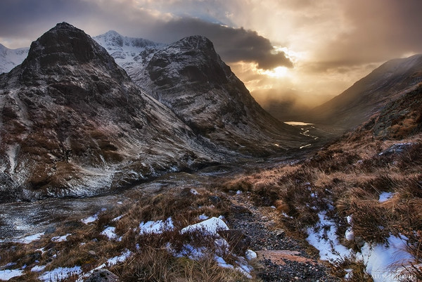 The Three Sisters of Glencoe - Yr Alban / Scotland
