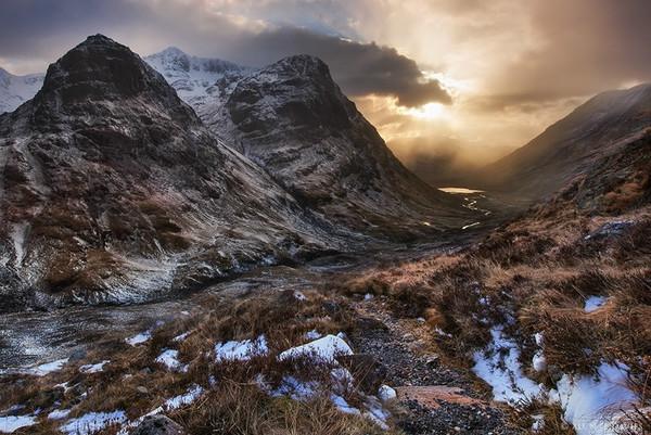 The Three Sisters of Glencoe - Yr Alban / Scotland