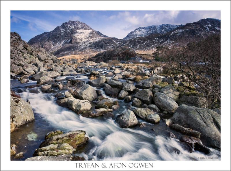 Afon Ogwen & Tryfan - Eryri / Snowdonia