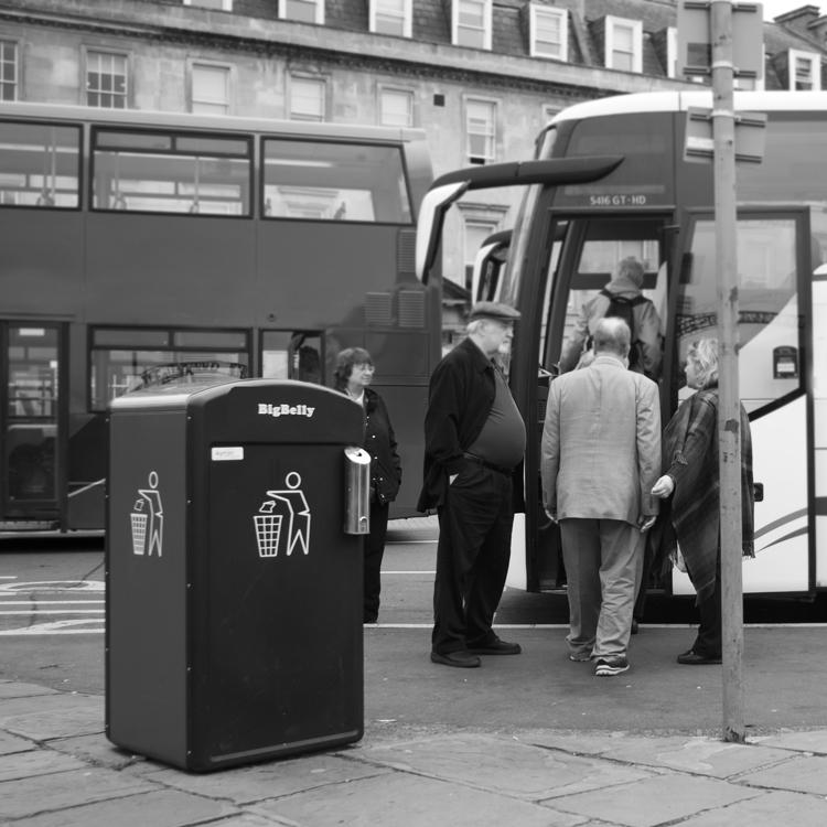 Waste!! Bin! - Street Photography