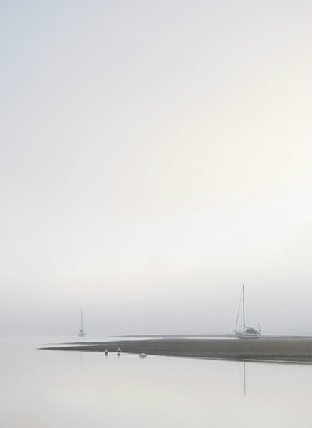 Boats in the mist 2 - Simplicity