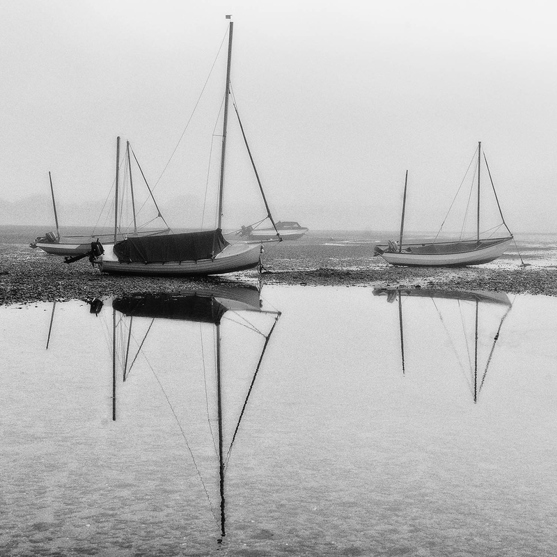 Boats in the Mist - Cards