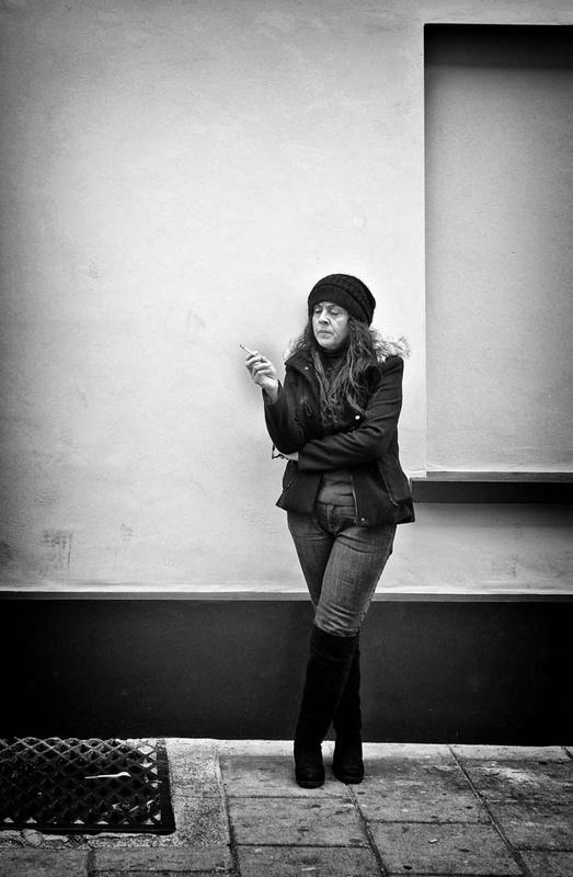 Smoking! - Street Photography