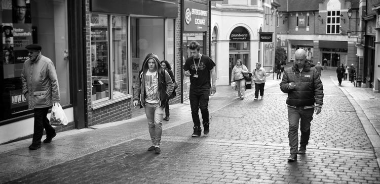 Walk this way!! - Street Photography