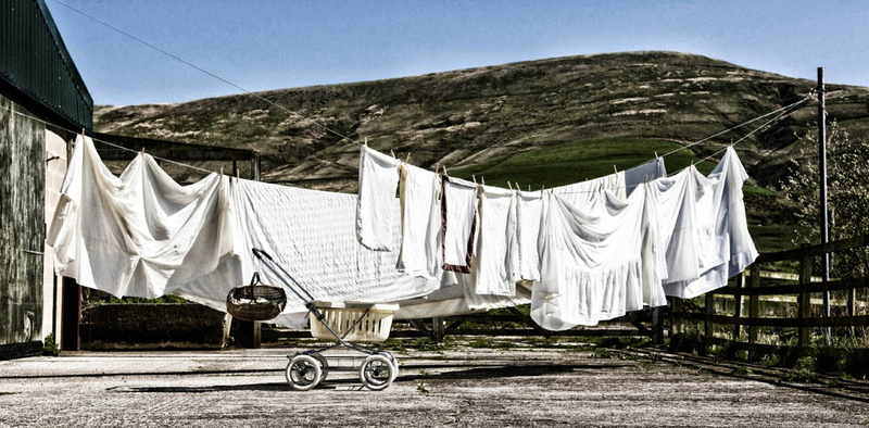 Wash Day - Street Photography