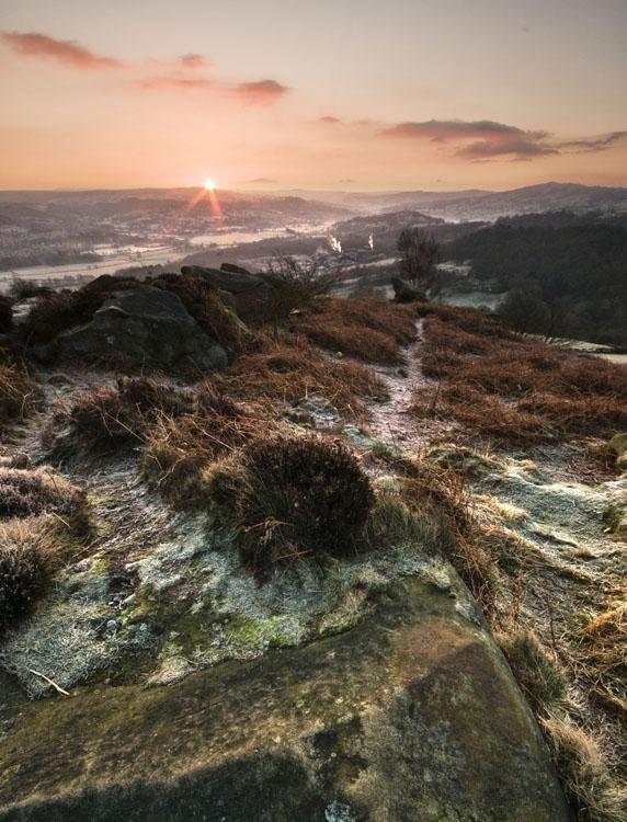 Stanton Moor Sunrise - Stanton Moor Landscapes