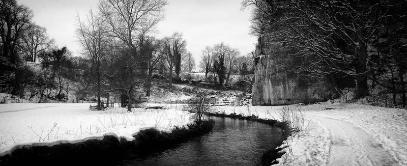 A cold winters day. - Winter Landscapes