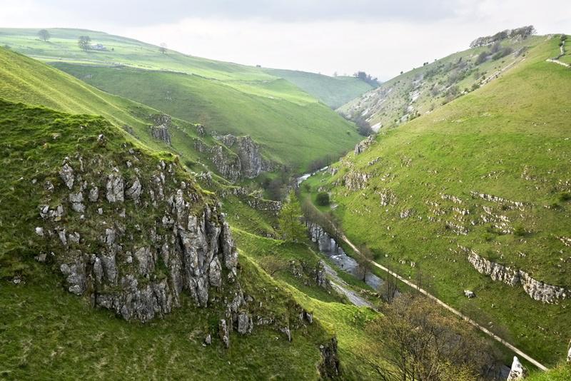 Wolfescote Dale - Landscapes