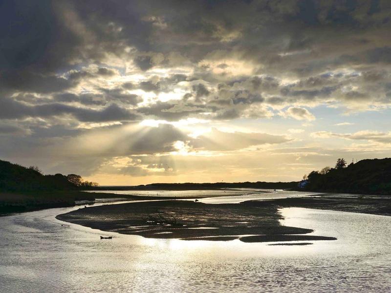 Newport Estuary Sunset - West Wales