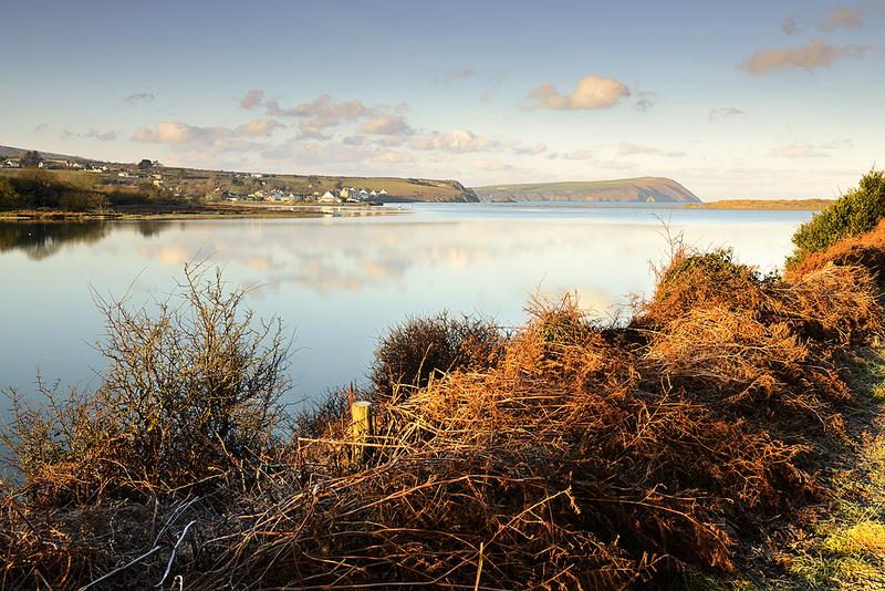 Newport Estuary looking towards Dinas head - Tez Marsdens Blog