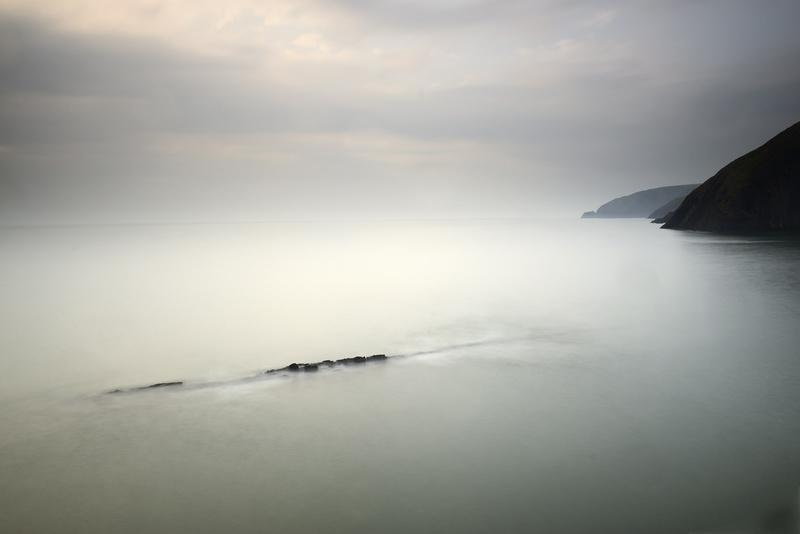 Ceibwr Bay Coffin rock - West Wales