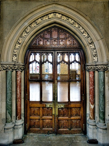 The Hall Door - Rochdale Town Hall