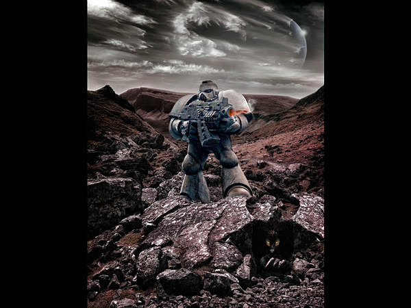 Hunting for Martians - Creative photography and Digital Arts