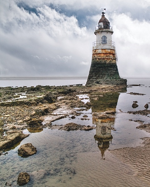 Plover Scar Lighthouse - Lancashire.