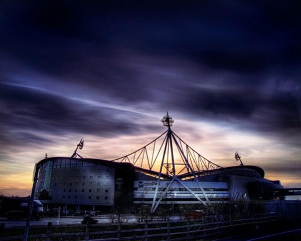 Reebok Stadium - Lancashire.