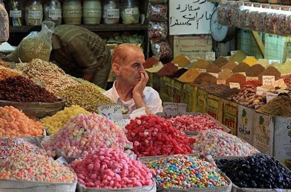 - Jordan, Syria and Lebanon