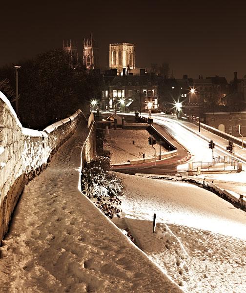 York In The Snow - York