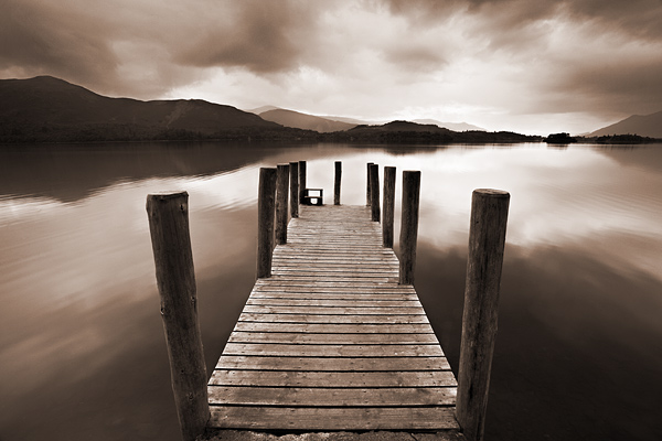 Derwentwater Jetty - Lake District