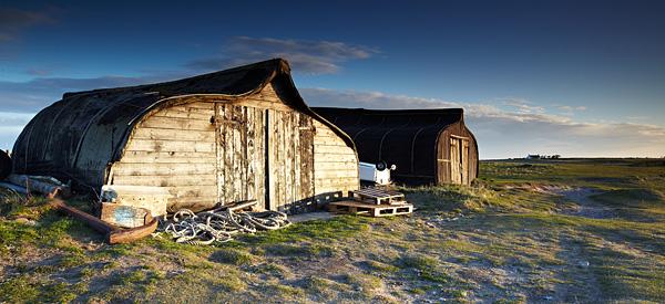 Lindisfarne Sheds - Northumberland