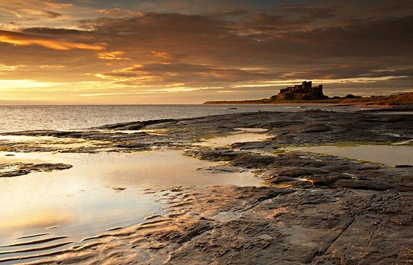 Castle Light - Northumberland