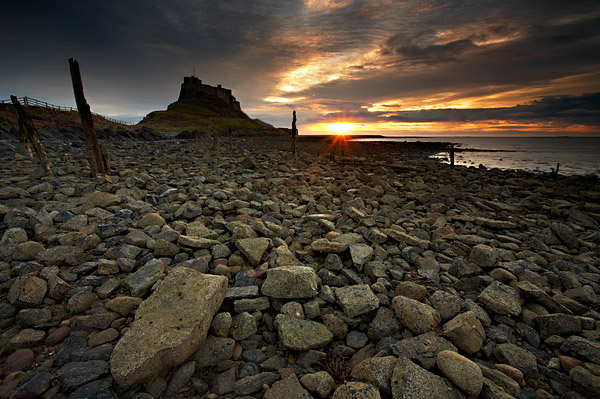 Ancient Sunrise - Northumberland