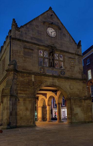Market hall - Shrewsbury in soft light