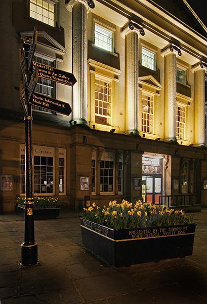 Music Hall - Shrewsbury in soft light