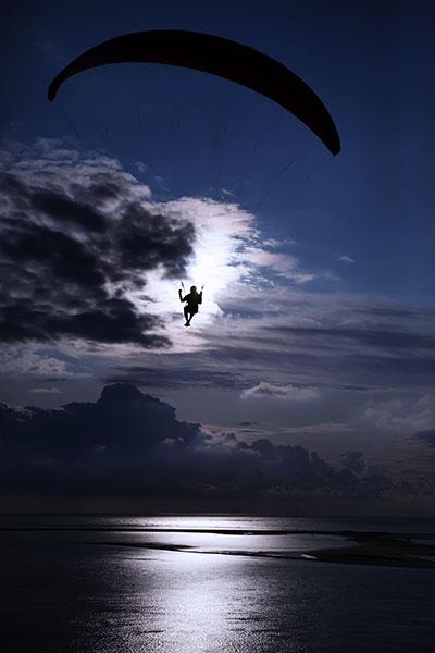 Moonlit glider - Dune