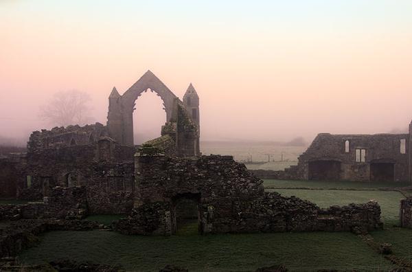Haughmond Abbey - Shrewsbury in soft light