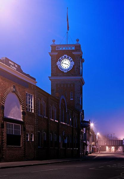 Morris Lubricants - Shrewsbury in soft light