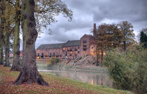 Old brewery - Shrewsbury in soft light