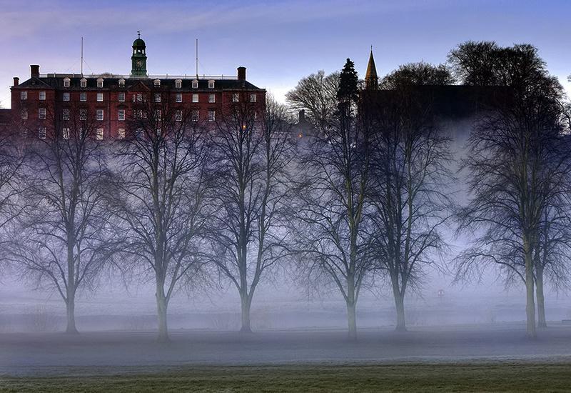 Shrewsbury School - Shrewsbury in soft light