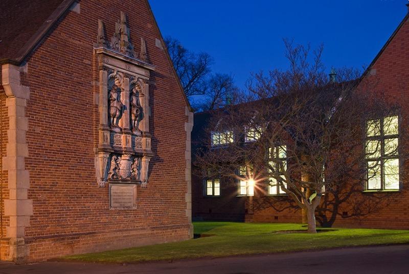 Stone plaque - Shrewsbury School