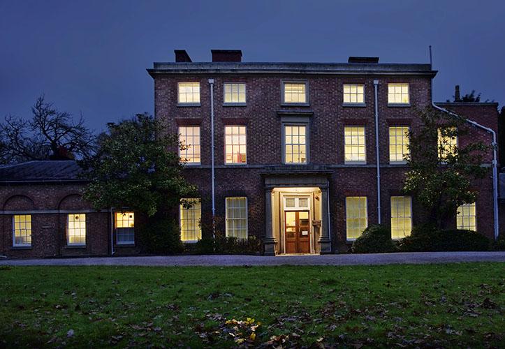 Darwin's birthplace - Shrewsbury in soft light
