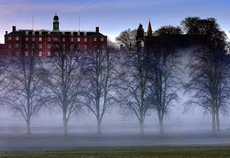 Above the mist - Shrewsbury School