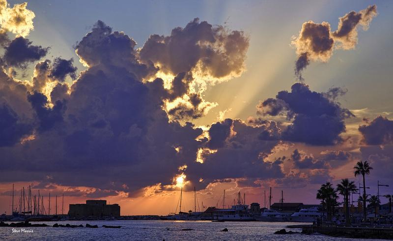 Harbour view - Colours of Paphos