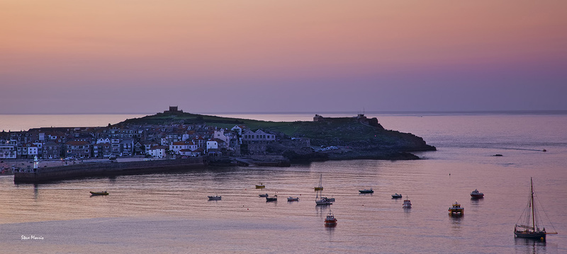 Late evening pano - Special St Ives