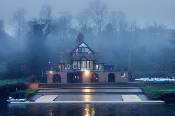 Pengwern boathouse - Shrewsbury in soft light