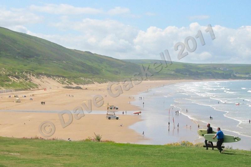 Woolacombe Beach  Surfers IMG_2632 - Devon inc. Lundy Island