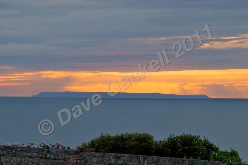 Lundy Sunset DSC_5690 - Devon inc. Lundy Island