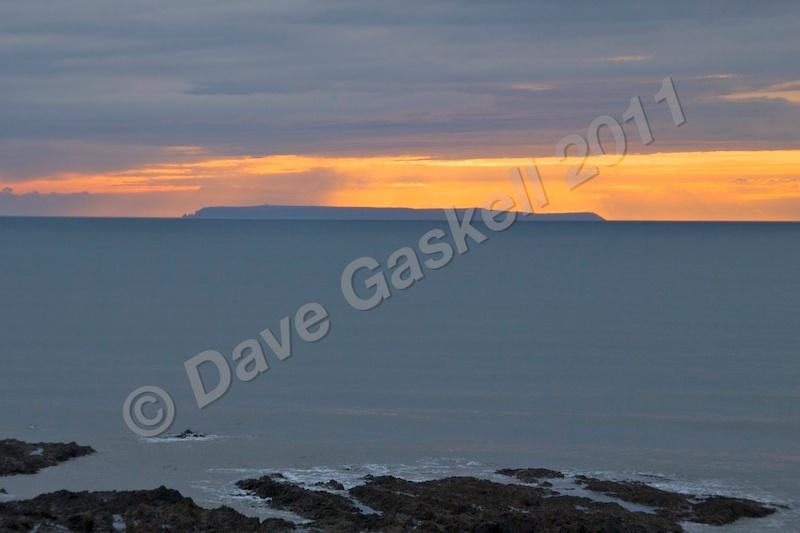Lundy Sunset  Rocks DSC_5692 - Devon inc. Lundy Island