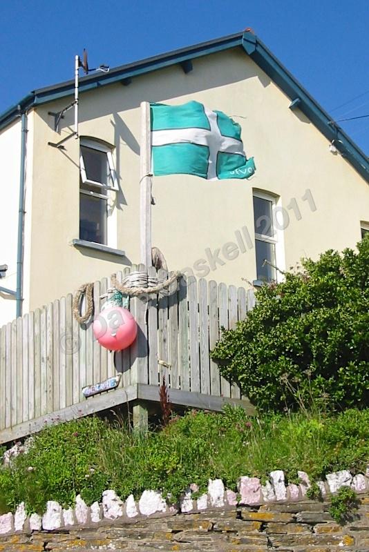 Devon Flag Woolacombe IMG_1898 - Devon inc. Lundy Island