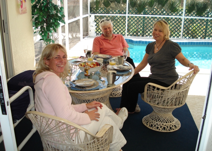 Breakfast with friends 10 - Florida Holiday Home